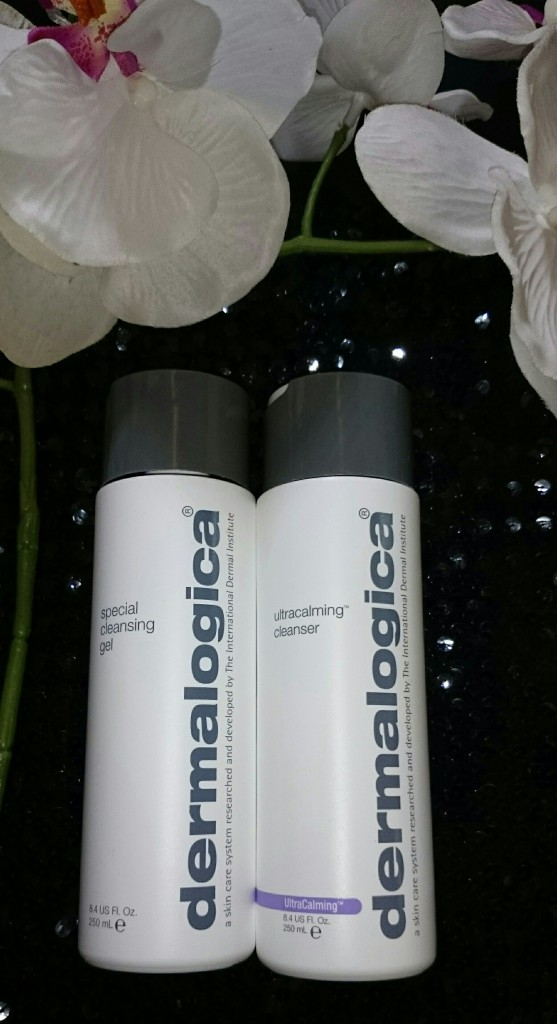 "Reinigungsgele: ""special cleansing gel"" und ""ultracalming cleanser"""