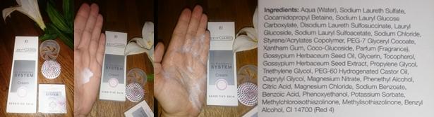 Reinigungscreme für empfindliche Haut + Inhaltsstoffe