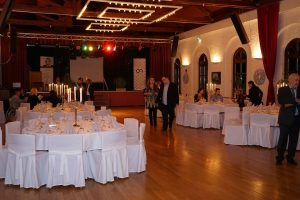 Der Festsaal vor Beginn der Gala. Foto: T.Kreuzer.