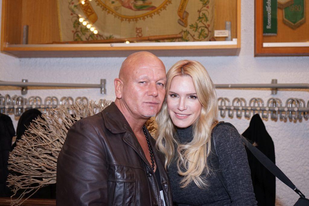 Tom Barcal mit Alexa Kuszlik. Foto: Niko Lemonidis