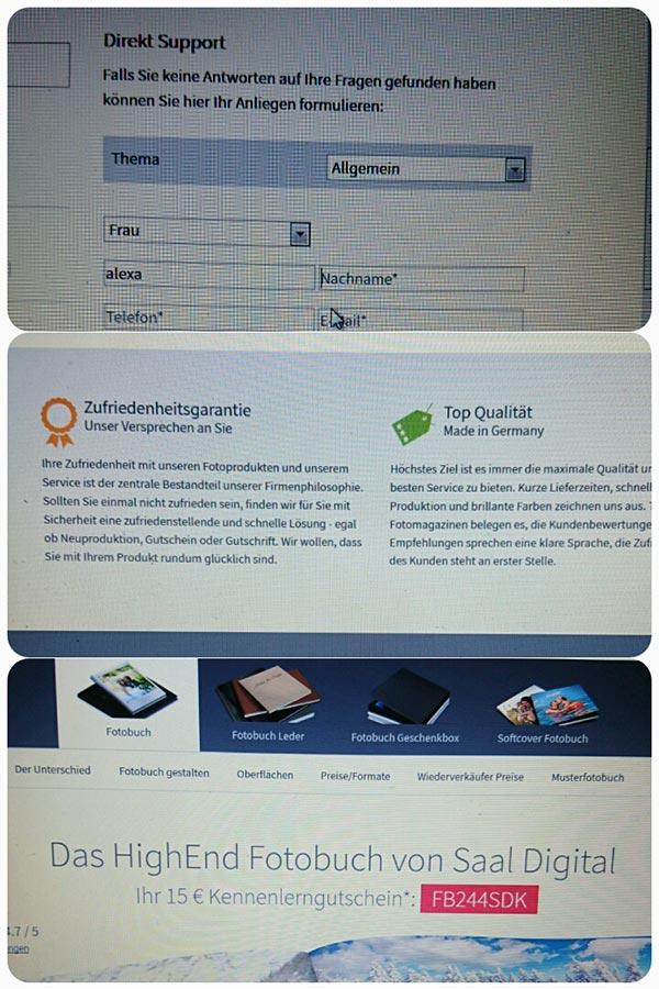 Zufriedenheitsgarantie & Rabattcode Saal Digital