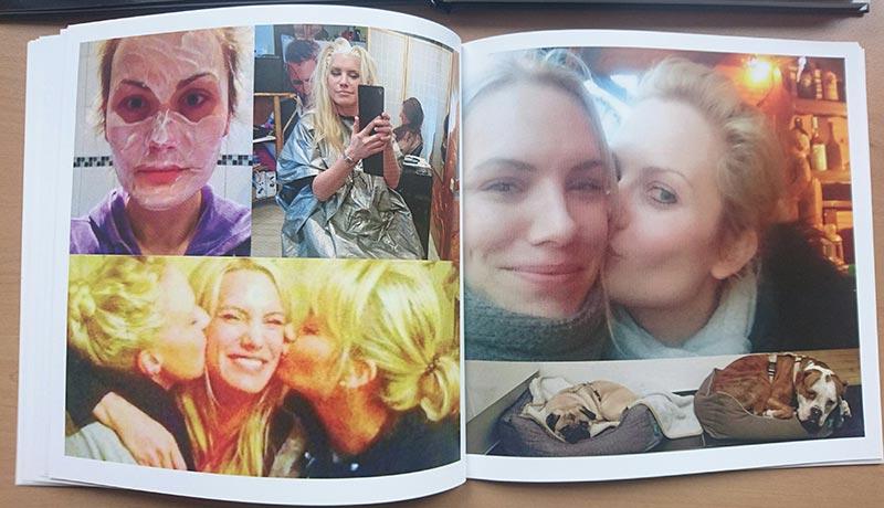 dm-Fotobuch: Auch Fotos mit schlechterer Qualität wurden angenommen, die sehen nun pixelig aus.