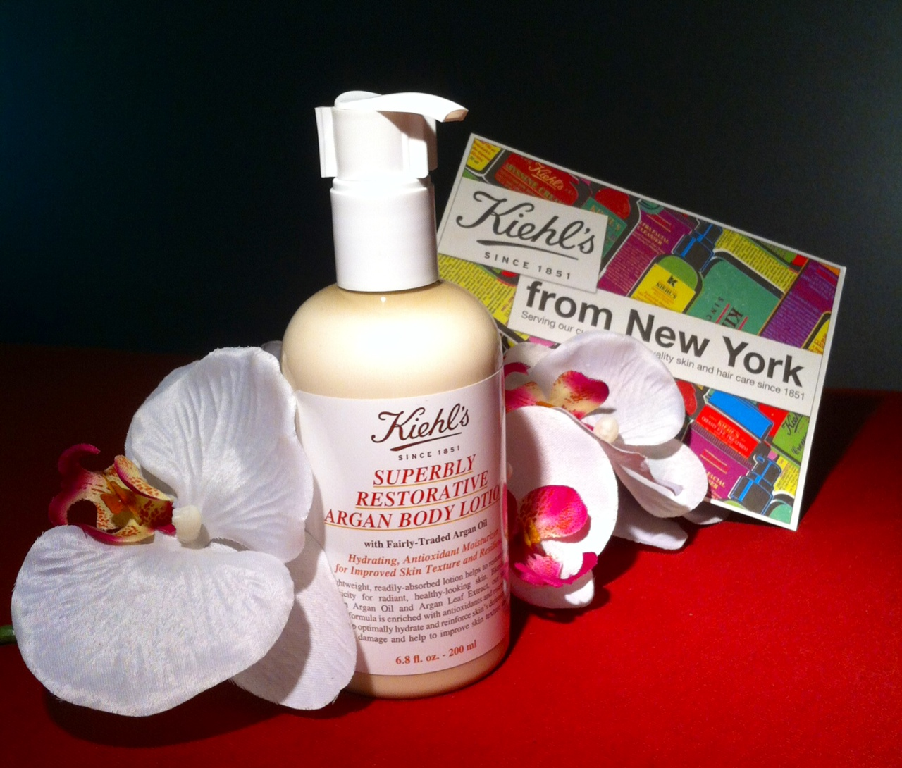 Interview: Can´t Live Without…: Superbly Restorative Argan Body Lotion/ KIEHL'S