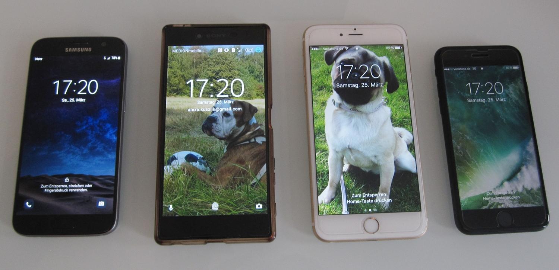 handy vergleich iphone samsung