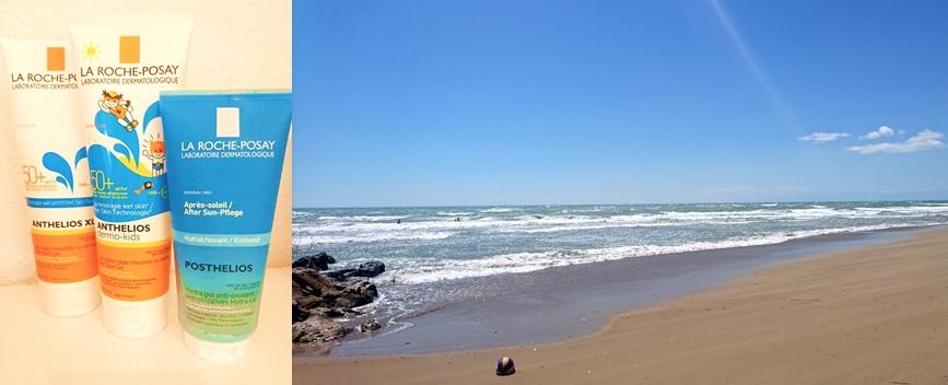 Test: Sonnencreme! La Roche Posay Anthelios XL Wet Skin Gel, Dermo Kids Und Posthelios Hydra Gel