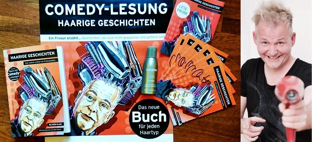"""Rezension Und Gewinnspiel: """"Haarige Geschichten"""" – Das Wahre Leben Im Friseursalon Von Oliver Klam"""
