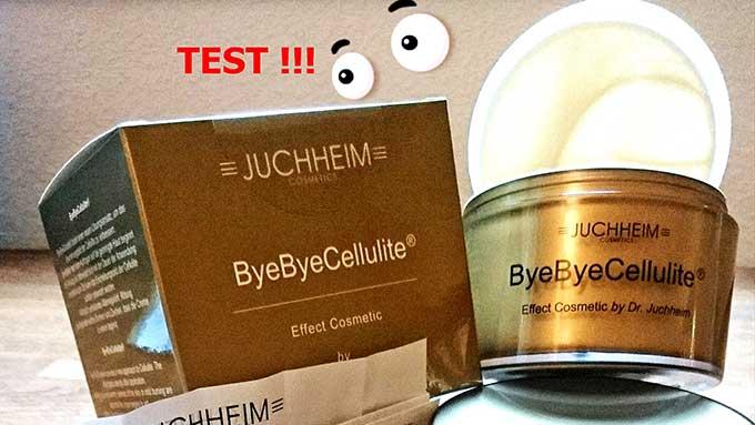 Dr. Juchheim ByeByeCellulite - Test / Erfahrungsbericht